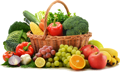 Healthy-Food-Basket-PNG